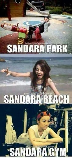 Lol a word play on sandara name