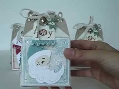 Hi guys! Finally got a chance to play with my Doohickeys while making these cute little favor boxes. They are so easy to make and turned out soooo cute!!! Le...