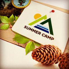 Summer Camp Logo @StockLayouts