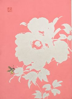 "ukiyoecosmos: "" 1934, The original japanese antique woodcut print, ""bee"", from ""Tansai Gafu"" """