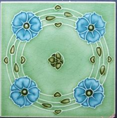 West Side Art Tiles -4478n428p0 - English Tile>