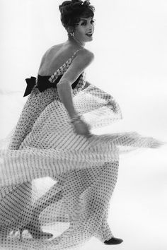 Carmen Dell'Orefice <3 New York, 1959.