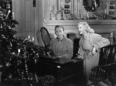 Bing Crosby and Marjorie Reynolds in Holiday Inn (1942)