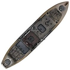 Ascend® FS128T Sit-On-Top Angler Kayak - Camo | Bass Pro Shops