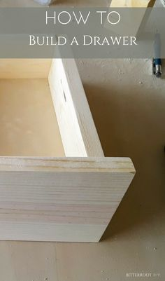 How to Build a Drawer | build a basic drawer with this easy step by step #beginnerwoodwork #woodworking #diyproject #drawer #diydrawer