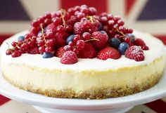 Tweet The forecast is for rain this weekend, but who cares when there's cheesecake to be eaten. What's more, you can use a low-fat cream cheese to make this fabulous cheesecake a little less sinful. Follow the recipe here… Vanilla Cheesecake with Berries recipe Preparation time: 15 minutes, plus overnight standing Cooking time: 45 minutes plus...