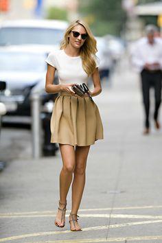 Candice Swanepoel Street Style