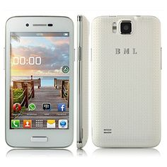 "BML S55W Dual SIM Dual Standby Unlocked WIFI 3G Smartphone Android 4.2.2 MTK6572W 1.3GHz Dual Core Dual Cameras 5.0 MP 4.0""/4.0 Inch TFT Multi-Touch Capacitive Screen Message (SMS/MMS) Gravity Sensor Radio FM GPS/A-GPS; Bluetooth 2.0 Protective Leather Case Mobile Phone Cellphone (White) - http://www.computerlaptoprepairsyork.co.uk/mobile-phones/bml-s55w-dual-sim-dual-standby-unlocked-wifi-3g-smartphone-android-4-2-2-mtk6572w-1-3ghz-dual-core-dual-cameras-5-0-mp-4-04-0-inch-t"