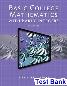 Solution manual for international economics 12th edition by basic college mathematics with early integers 3rd edition bittinger test bank test bank solutions fandeluxe Gallery