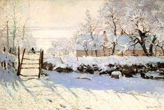 The Magpie - Monet