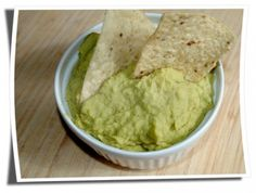 Avacado Hummus - two of the best snacks in one!