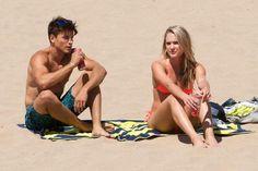 Andrew Gray and Ciara Hanna