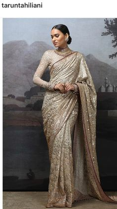 Pakistani Wedding Outfits, Pakistani Dresses, Indian Dresses, Indian Outfits, Saree Designs Party Wear, Saree Blouse Designs, Saris, Sabyasachi, Lehenga
