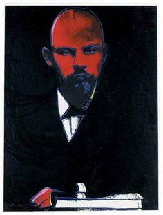 Andy Warhol / Black Lenin, 1986