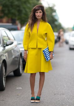 Street Style Milan Fashion Week Spring 2014 19