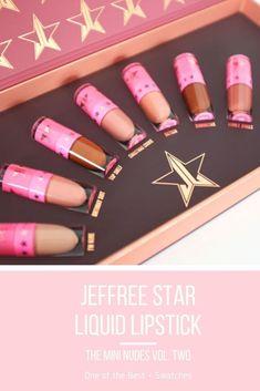 Jeffree Star - The Mini Velour Liquid Lipstick Nudes Volume Two im Test ✅ Die . - Jeffree Star – The Mini Velour Liquid Lipstick Nudes Volume Two im Test ✅ Die besten Liquid Lip - Best Lipstick Color, Lipstick For Fair Skin, Natural Lipstick, Dark Lipstick, Best Lipsticks, Pink Lipsticks, Lipstick Colors, Bright Lipstick, Lipgloss