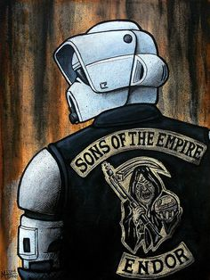 Star Wars biker gang