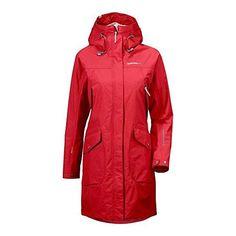 Didriksons 1913 Damen Regenmantel rot 42 - EUR 205.00 - 5 von 5 Sternen - mehr als 2 Bewertungen Rainy Dayz, Coats For Women, Parka, Raincoat, Ebay, Fashion, Best Rain Jacket, Ladies Raincoats, Jackets
