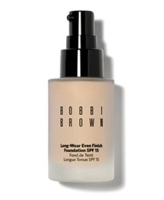 Bobbi's long wearing foundations