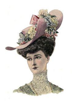 Robe de Mariée - femmes en 1900
