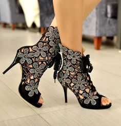 Adorable! Summer fashion leather high-heeled sandals CC05271SH