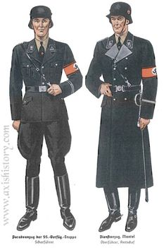 Nazi SS uniforms | Thread: Interesting military uniforms I don't like what the Nazi did. They uniforms are every fashionable.