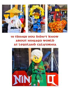 LEGO NINJAGO Charact
