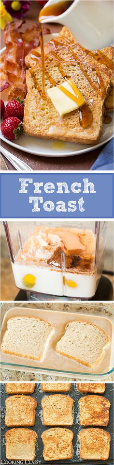 French Toast - this is my favorite classic french toast recipe!! Love the addition of a little flour and cream.