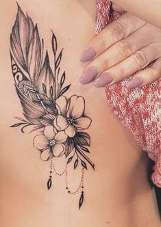 Plume Tattoo, Feather Tattoos, Leg Tattoos, Body Art Tattoos, Small Tattoos, Tatoos, Ankle Tattoos For Women, Tattoos For Women Half Sleeve, Shoulder Tattoos For Women