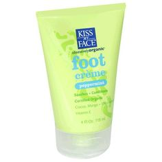 Kiss My Face Foot Creme, 4-Ounce Tubes (Pack of 2). #beauty, #skincare, #feet #care