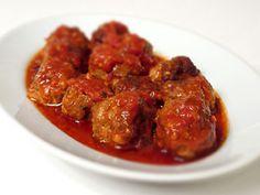 Albondigas de Carne  http://www.yanuq.com/buscador.asp?idreceta=2344
