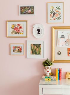 Wall Inspired By The Colors Of Wes Anderson Gallery inspired by Wes Anderson using rifle paper co. via inspired by Wes Anderson using rifle paper co. Bedroom Decor, Wall Decor, Decorating Bedrooms, Diy Wall, Rifle Paper Co, Deco Design, Home Decor Inspiration, Decor Ideas, Diy Ideas