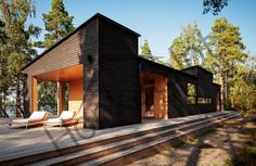 Первый шаг к недорогому дому - выбор проекта с односкатной крышей | Частный дом