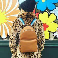 Shop Emma Robert's Anya Hindmarch Backpack | Instagram Fashion