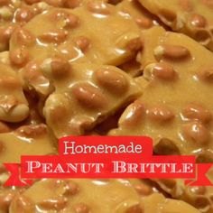Homemade Microwave Peanut Brittle
