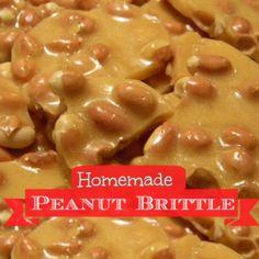 Homemade Microwave Peanut Brittle - My Honeys Place