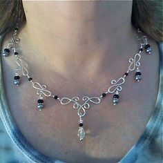 Wire Work Jewelry Patterns | Found on reciepes4donuts.blogspot.ca