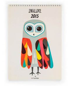 Earth Greetings - Inaluxe 2015 Calendar – available at Daisy Chain Store