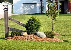 Image result for ideas for cedar rail fence