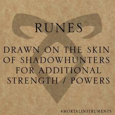 I am a shadowhunter what about you?