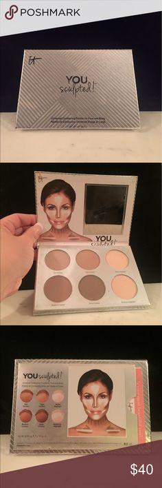 it Cosmetics YOU sculpted! Contouring Palette it Cosmetics YOU sculpted! Universal Contouring Palette for Face and Body. ✨New!! ✨ it Cosmetics Makeup