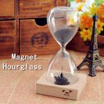 Magnet Flower Bloom Hourglass IQ Training Beautiful Decoration Toy