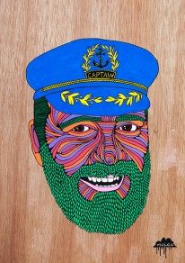 Captain Dad by Mulga the Artist