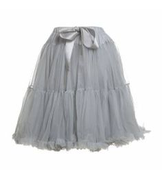 Women's Petticoat / Tutu in Misty Grey (to wear under frocks, of course) Unique Fashion, 90s Fashion, Fashion Looks, Vintage Fashion, Fashion Outfits, Womens Fashion, Fashion Clothes, Vintage Style, Dreamboats And Petticoats