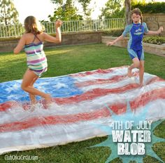 4th of July Party – Water Blob for Kids   Club Chica Circle - where crafty is contagious