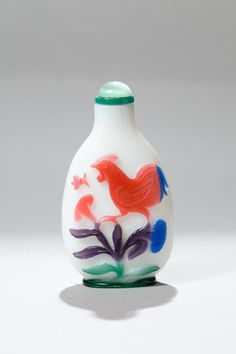 Chinese Glass snuff bottles from the Qing dynasty