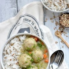 DROBIOWE KLOPSIKI W SOSIE KOPERKOWYM Impreza, Hummus, Soup, Foods, Chicken, Meat, Cooking, Ethnic Recipes, Blog