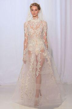 Suknie ślubne, tydzień mody ślubnej 2017, projekt Reem Acra