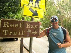 John in the US Virgin islands is covered in hiking trails. One of the most famous and the longest is the Reef Bay Trail. Us Islands, Us Virgin Islands, Saint John Island, Us Travel, Travel Tips, Virgin Islands National Park, Johns Island, Southern Caribbean, St Thomas