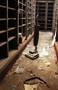 Abandoned Places by Florence Caplain, via Behance